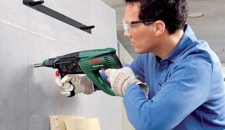 Как сверлить бетон без пыли